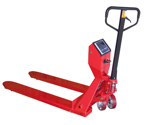 Pallet Truck w/ Scale - Forklift Training Safety Products