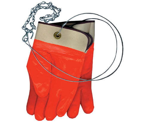 PVC Propane Cylinder Handling Gloves - Forklift Training Safety Products