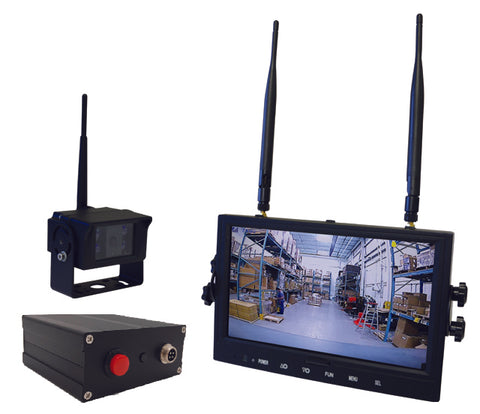 Safe-View Wireless Camera System - Forklift Training Safety Products