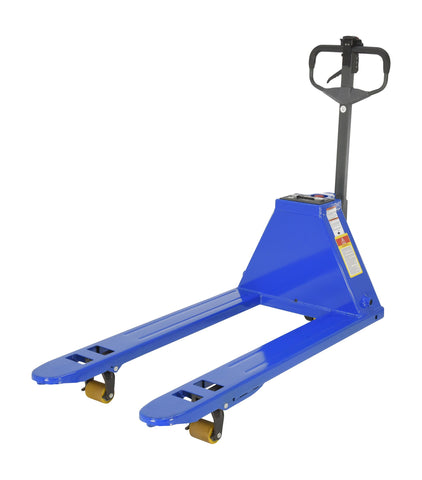 Semi-Automatic Electric Pallet Truck with QuickLift - Forklift Training Safety Products