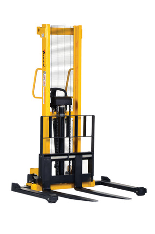 Manual Hand Pump Stacker - Forklift Training Safety Products