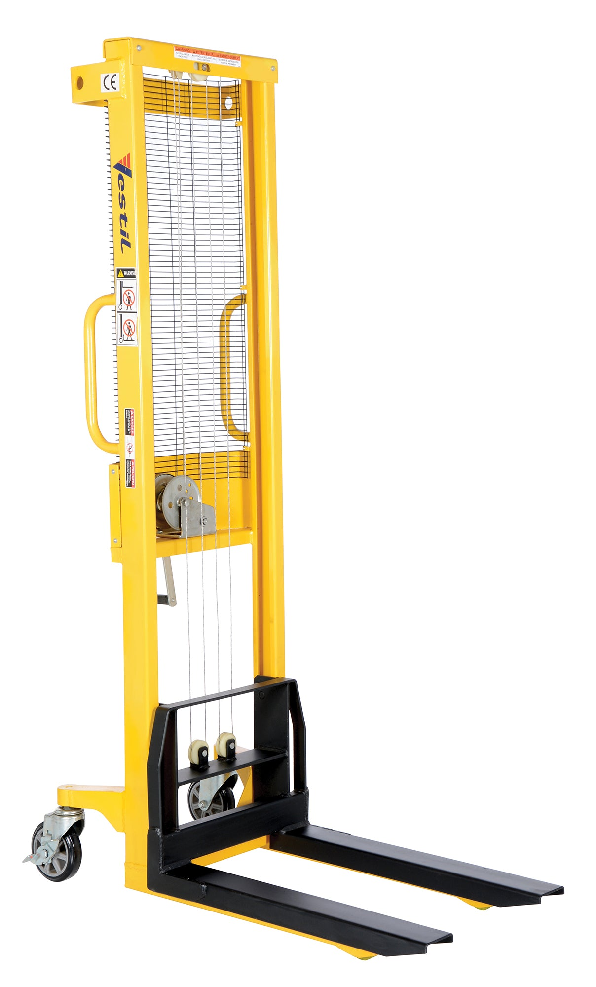 ... Manual Hand Winch Stackers - Forklift Training Safety Products ...