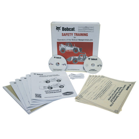 Bobcat Versa Handler DVD Training Kit - Forklift Training Safety Products