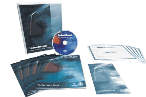 Lock-out / Tag-out Support Materials - Forklift Training Safety Products
