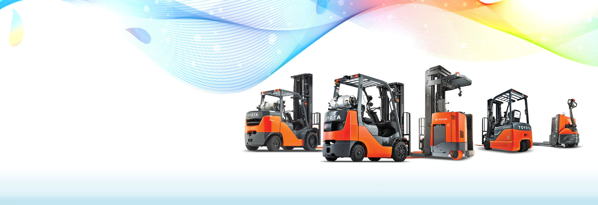 Select location type business with dock or forklift business without - Toyota Forklifts