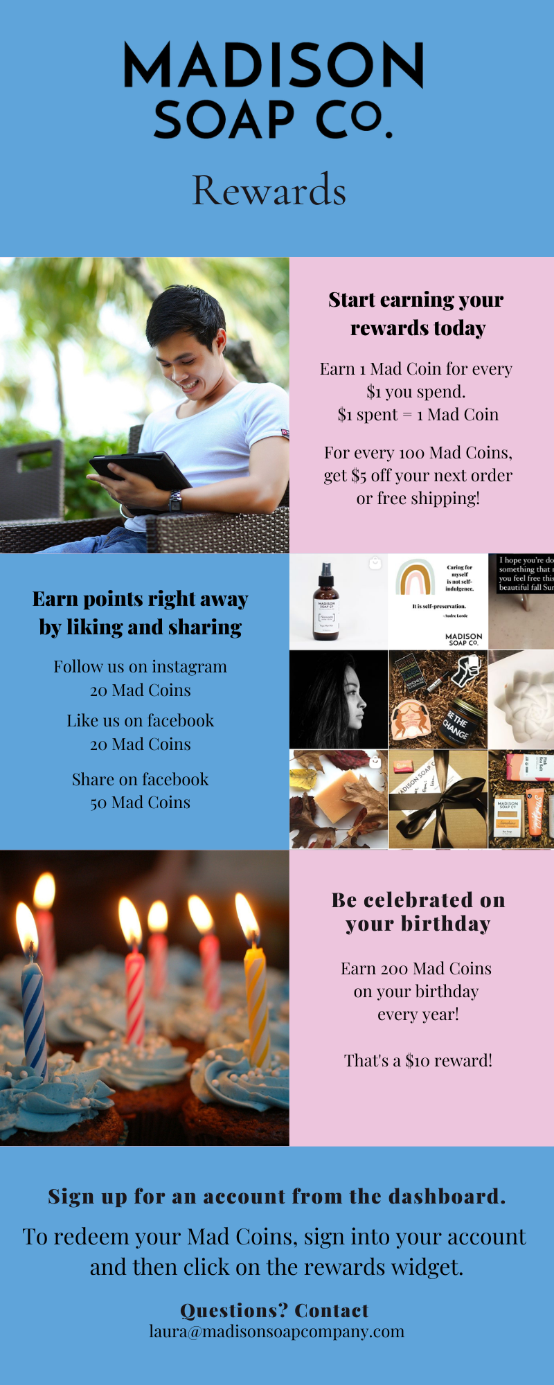 Madison Soap Co. Rewards