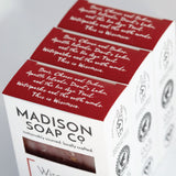 """Wisconsin"" Oatmeal + Mint Bar Soap"