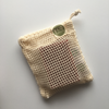 Cotton Soap Bag Soap Bag Rosy Brown Madison Soap Co.