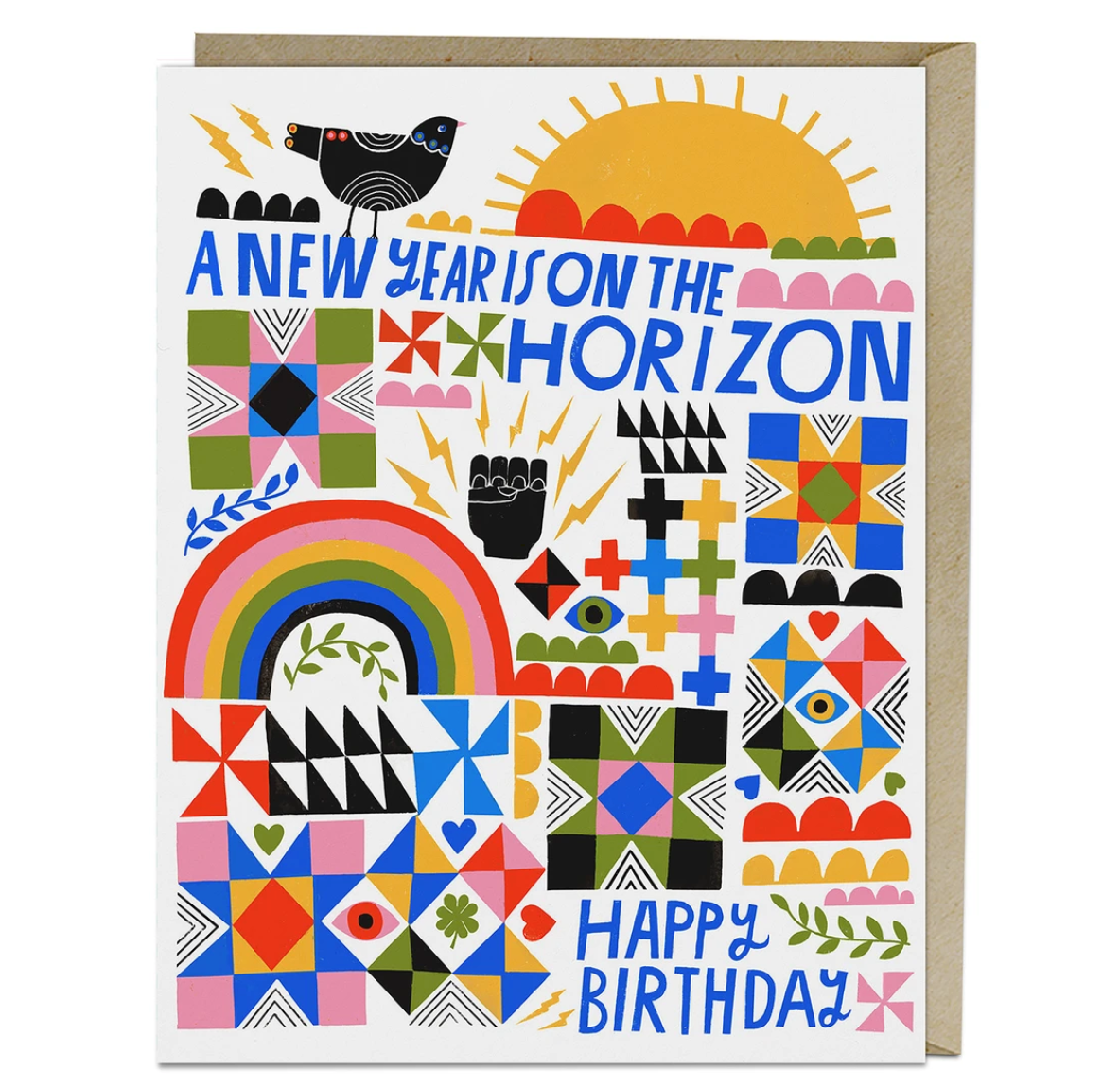 Card, A New Year Card by Lisa Congdon from Madison Soap Company