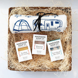 Happy Camper Gift Set by Madison Goods from Madison Soap Company