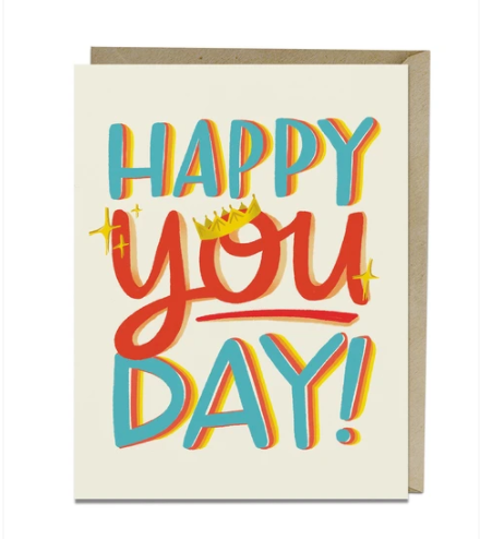 Happy You Day Card by Emily McDowell from Madison Soap Company