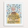 """Human Warrior"" Print Art Print by Persika Design Co from Madison Soap Company"