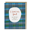 Card, I Love You, Dad Card by Emily McDowell from Madison Soap Company