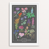 """Midwest Wildflowers"" Print Art Print by Persika Design Co from Madison Soap Company"