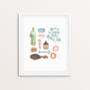 """Powder Room"" Print Art Print by Persika Design Co from Madison Soap Company"