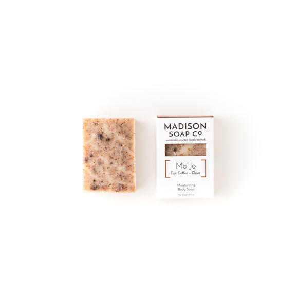 Soap, MoJo, Case-Pack of 6, $3.25/bar