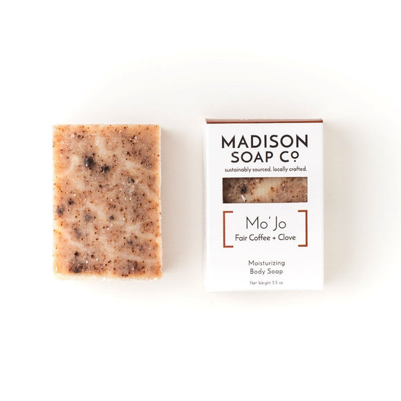 MoJo, Coffee + Clove Exfoliating Body Soap