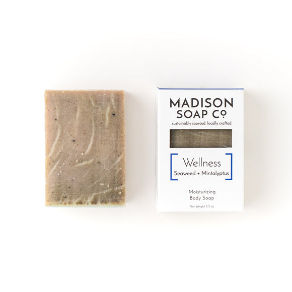 Soap, Wellness, Case-pack of 6, $3.25/bar