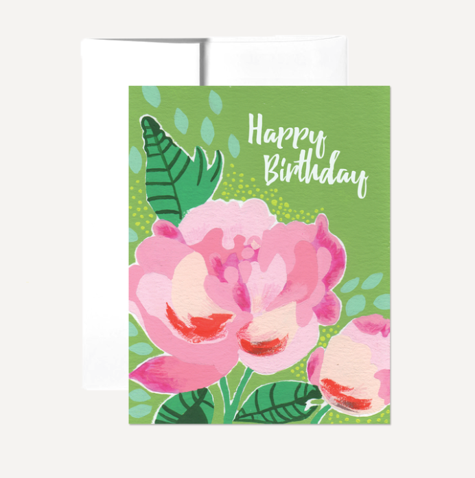 Happy Birthday Card Card by Persika Design Co from Madison Soap Company