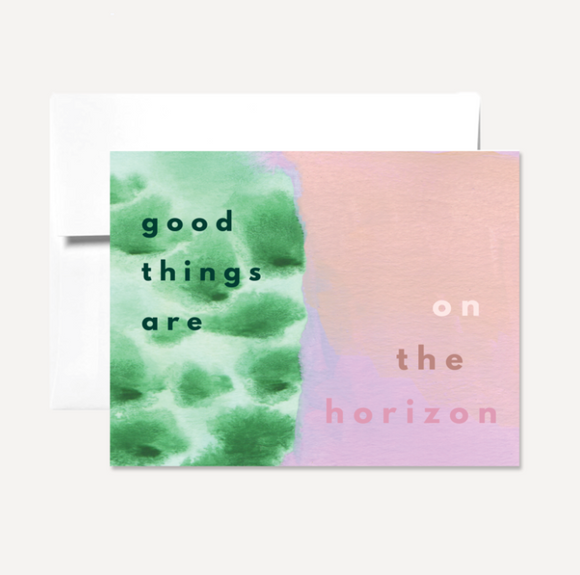 Good Things Card Card by Persika Design Co from Madison Soap Company