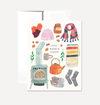 Stay Warm Card Card by Persika Design Co from Madison Soap Company