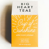 Tea, Cup of Sunshine Tea Sandy Brown Big Heart Teas