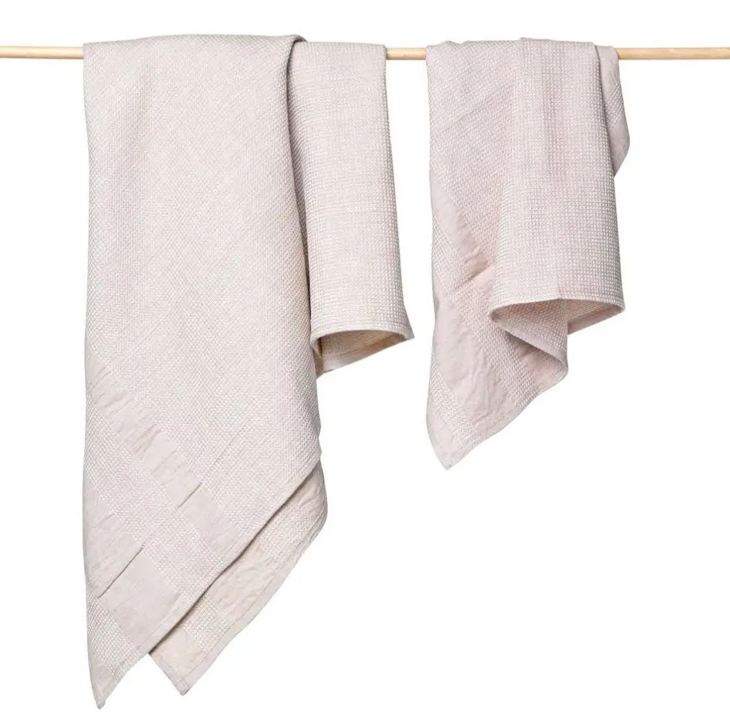 Cabo Organic Cotton Towels Bath Towel Antique White Madison Soap Company