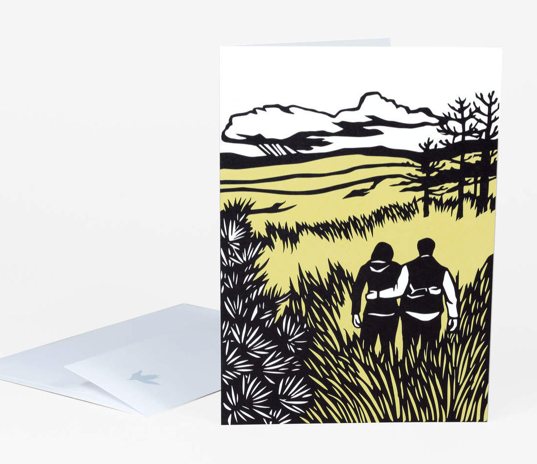 """Methow Valley"" Card Card by Nikki McClure from Madison Soap Company"