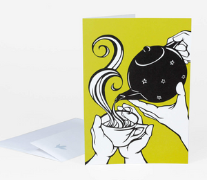 """Tea Time"" Card"