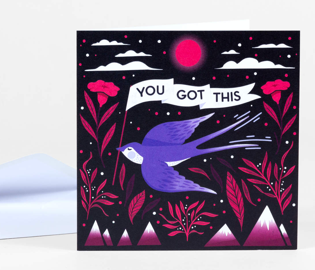 """You Got This"" Card Card by Papio Press from Madison Soap Company"