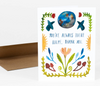 """There For Me"" Card Card by Little Truths Studio from Madison Soap Company"