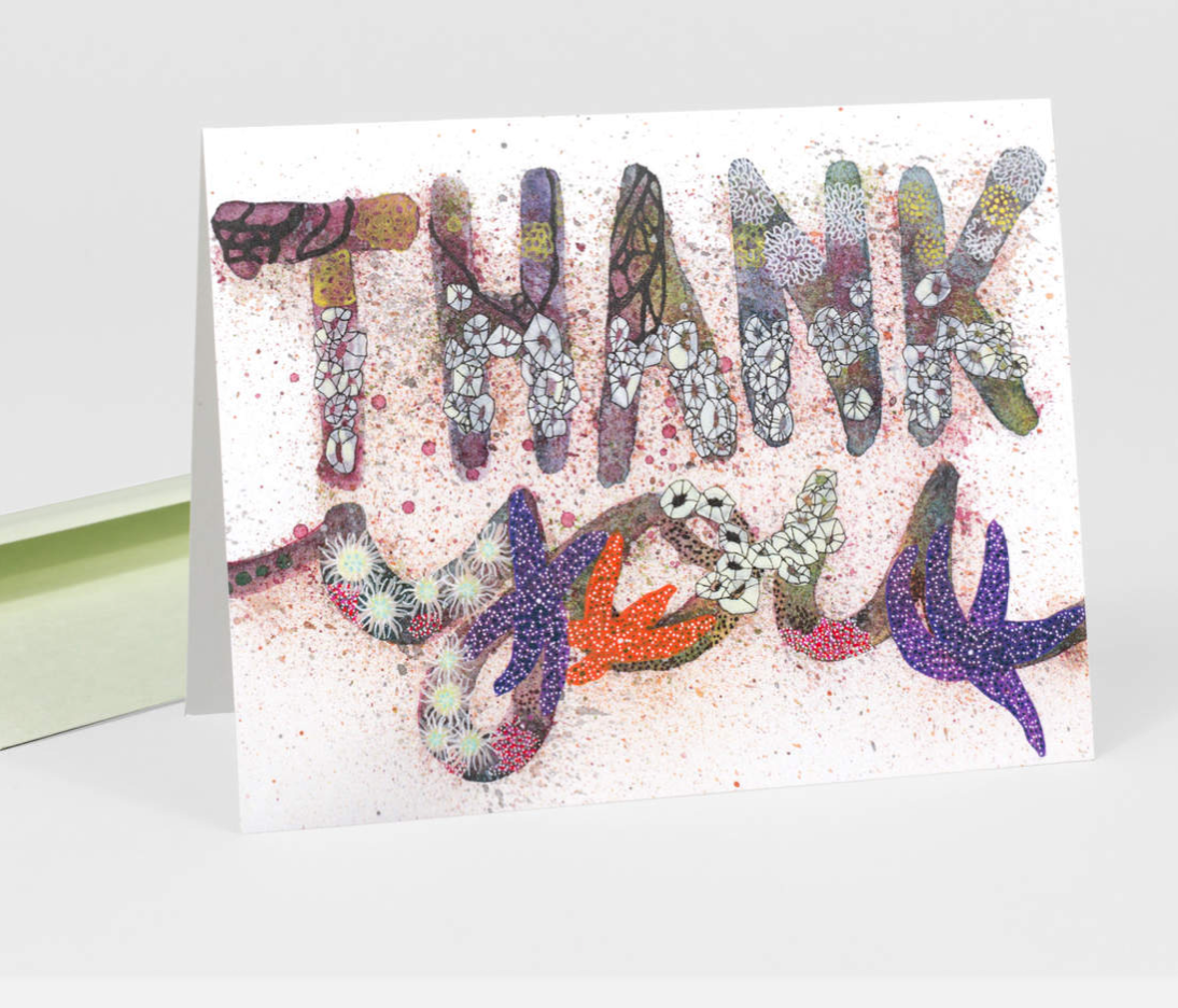 """Thank you"" Card Card by Jill Bliss from Madison Soap Company"