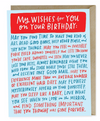 Birthday Dedication Card Card by Emily McDowell from Madison Soap Company
