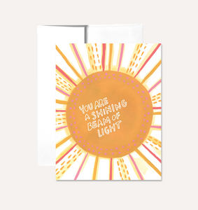 """Sunshine"" Card Card by Persika Design Co from Madison Soap Company"