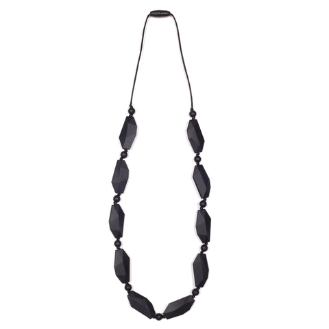 Madison Teething Necklace - Marble