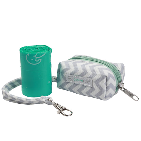 Diaper Waste Bag Dispenser - Grey Chevron