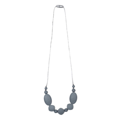Naomi Teething Necklace - Mint/Marble