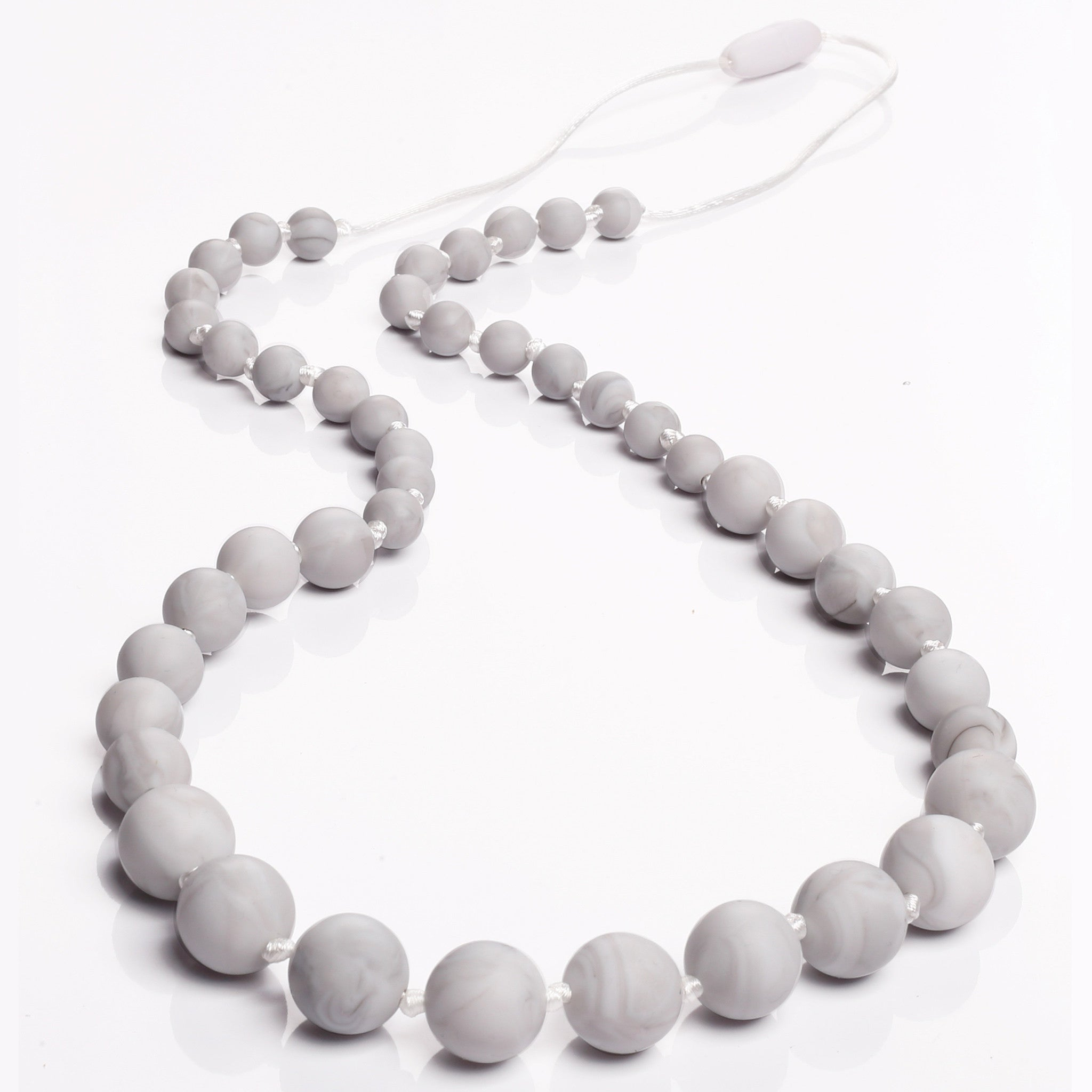 Audrey Teething Necklace - Marble
