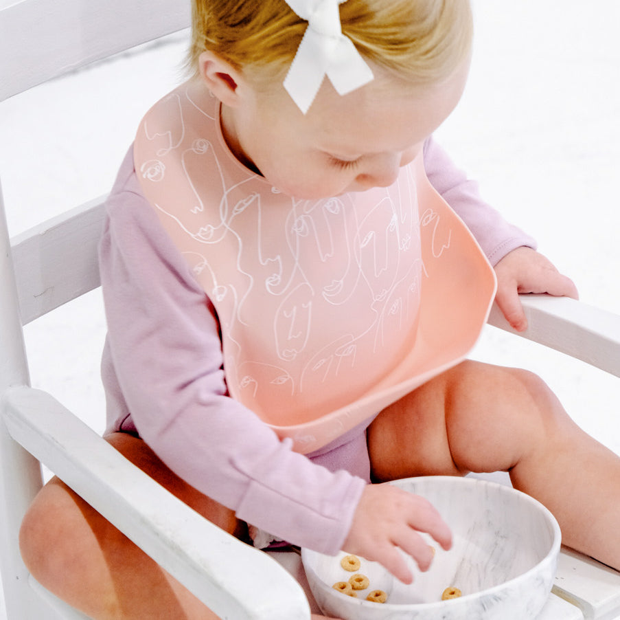 Silicone Baby Bib - Motherhood
