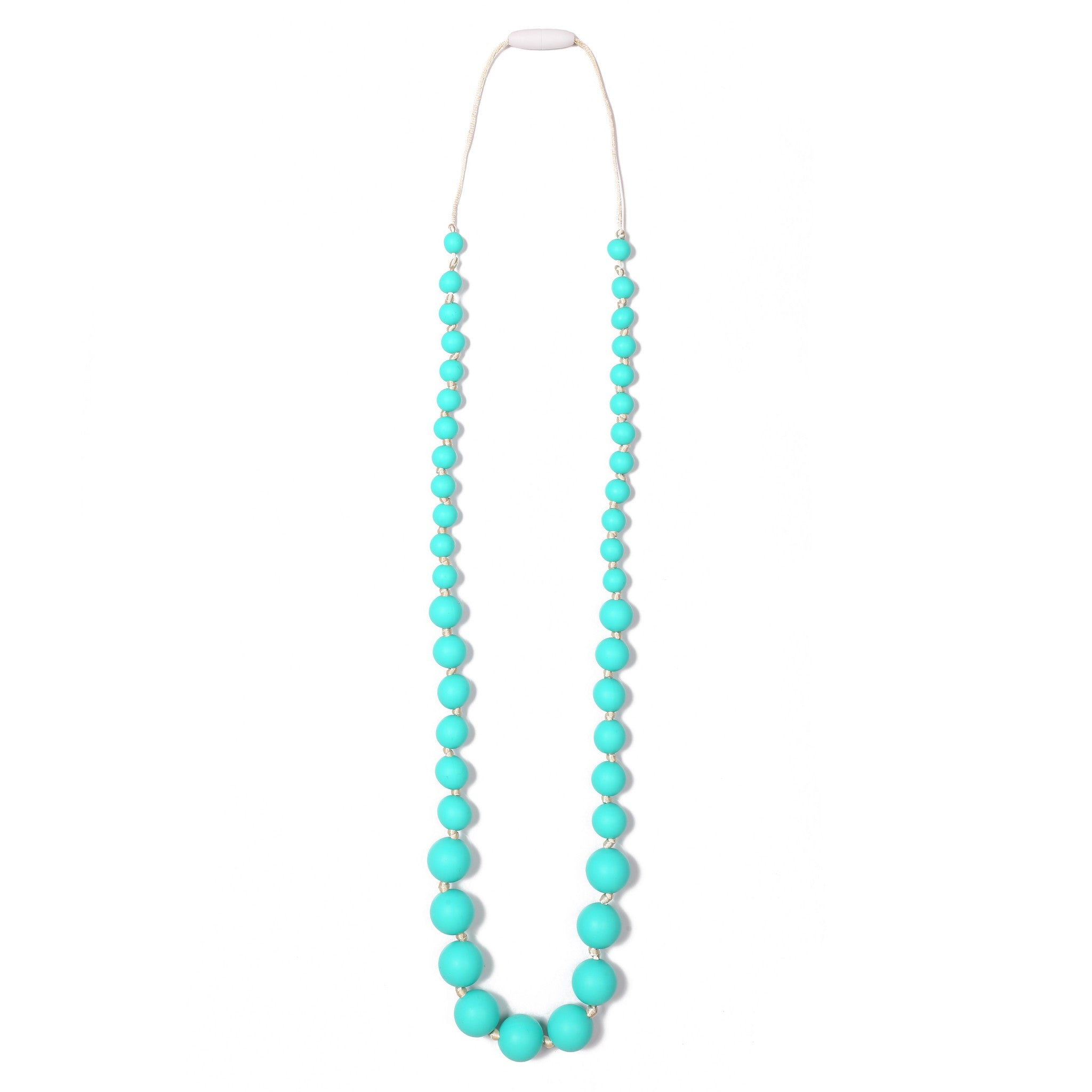 Audrey Teething Necklace - Turquoise