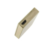 Gift USB Lighter - Windproof and Flameless - USB Cable Included (Gold Chequered)