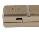 USB Mini Portable Charger 2600 mAh Powerbank for Smart Phones (Gold)