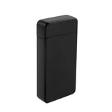 USB Flameless Lighter with Windproof Electric Double Arc - USB Cable Included (Black)