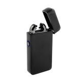 USB Flameless Lighter with Windproof Electric Single Arc - USB Cable Included (Black)