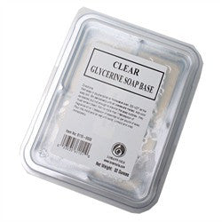 Clear Glycerine Soap Base - 2 lb Bar - Cricket Creek