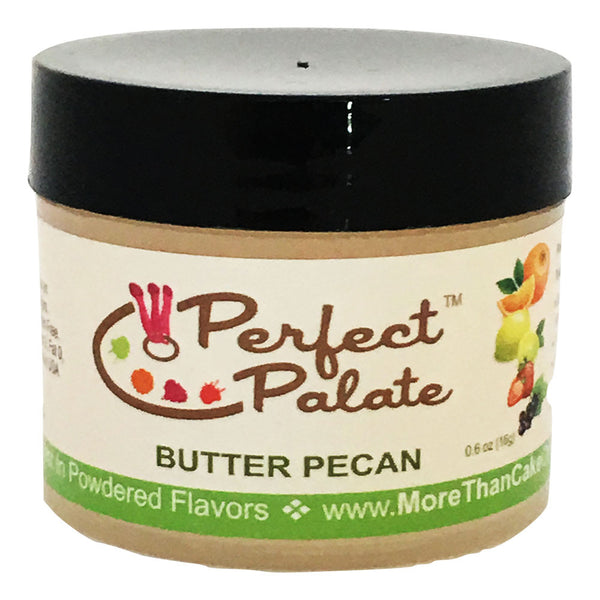 Perfect Palate™ Butter Pecan Powdered Food Baking Flavor .6oz (16g) by More Than Cake - Cricket Creek