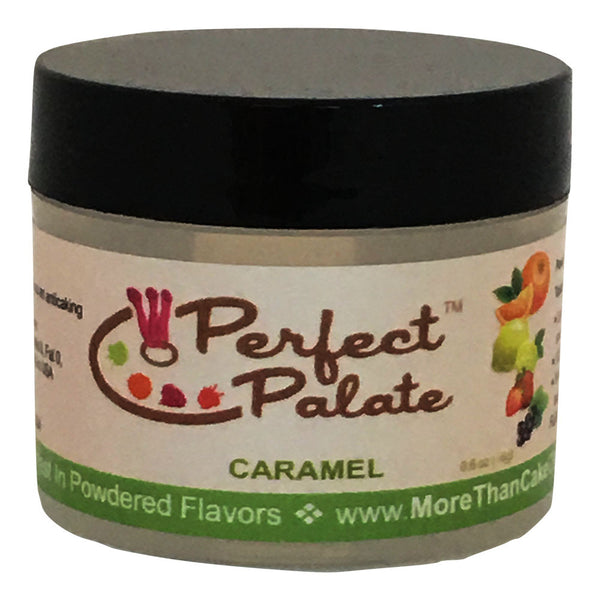 Perfect Palate™ Caramel Powdered Food Baking Flavor .6oz (16g) by More Than Cake - Cricket Creek