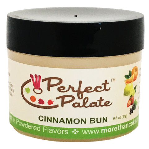 Perfect Palate™ Cinnamon Bun Powdered Food Baking Flavor .6oz (16g) by More Than Cake - Cricket Creek