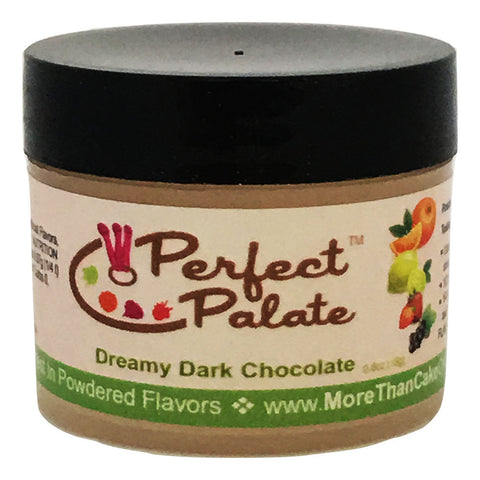 Perfect Palate™ Dreamy Dark Chocolate Powdered Food Baking Flavor .6oz (16g) by More Than Cake - Cricket Creek