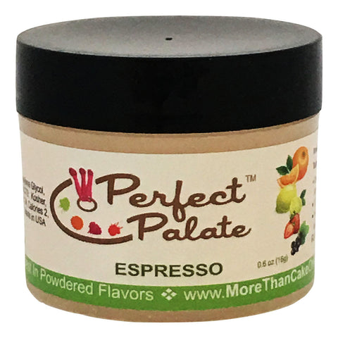Perfect Palate™ Espresso Powdered Food Baking Flavor .6oz (16g) by More Than Cake - Cricket Creek